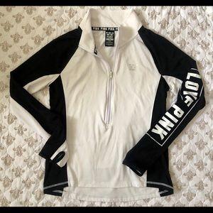 Victoria's Secret PINK Half-Zip Sports Jacket